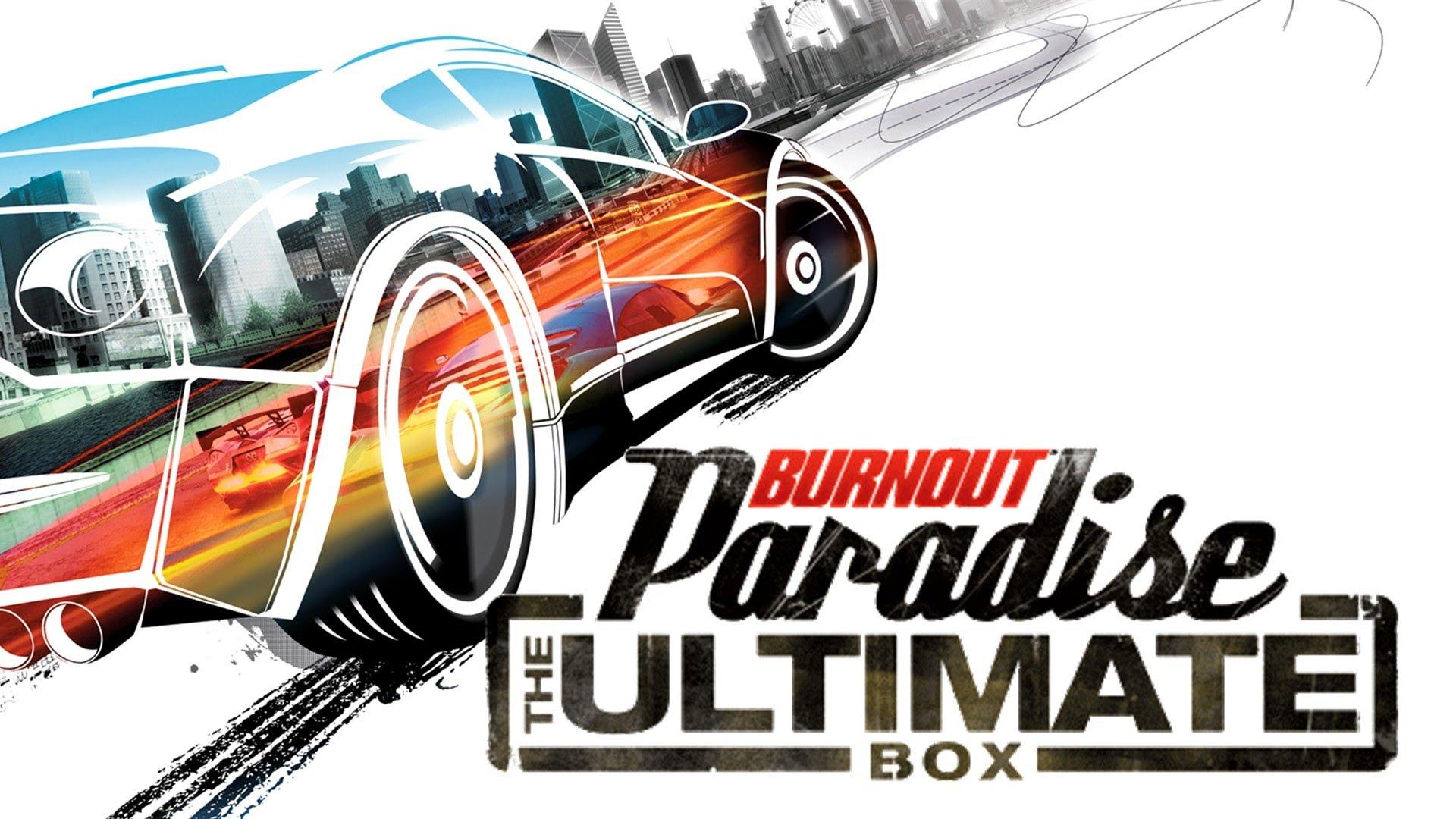 Burnout Paradise Ultimate Box