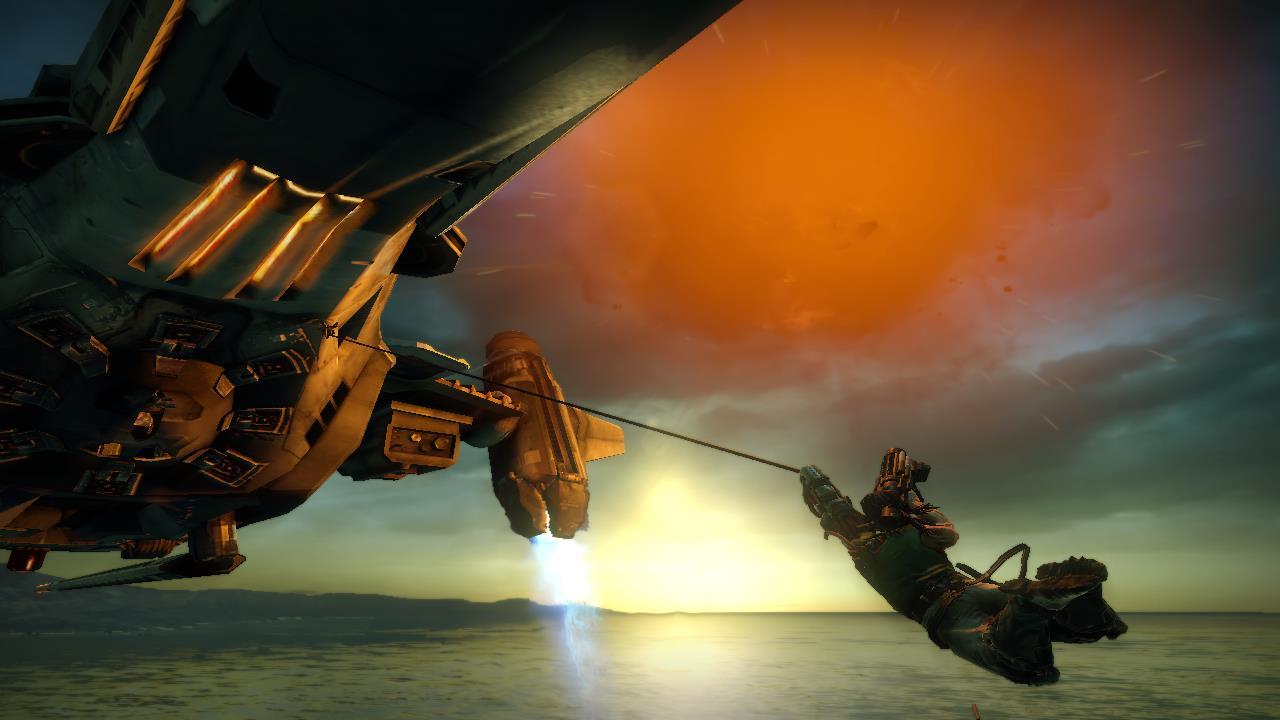 Bionic Commando lancio