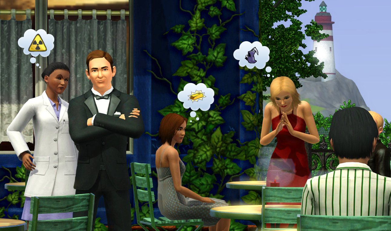 The Sims 3 spia