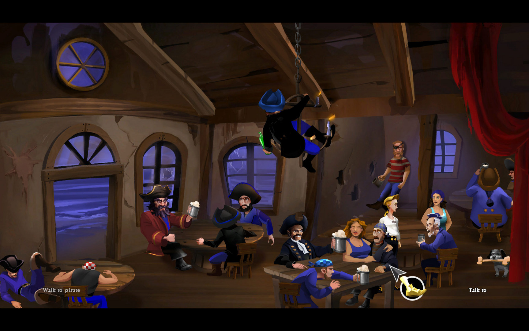 The secret of Monkey Island Special Edition - 1