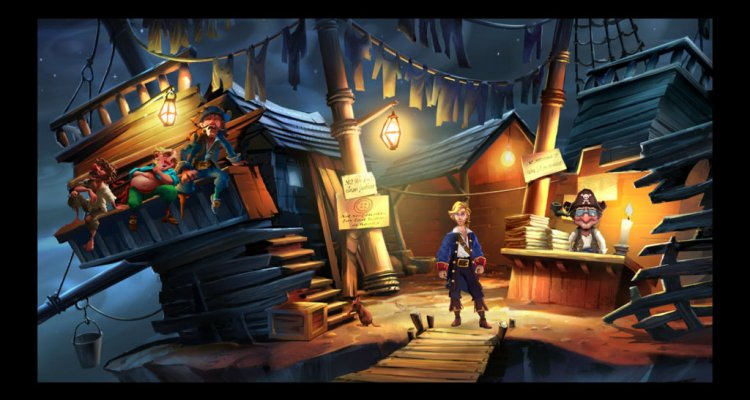 The secret of Monkey Island Special Edition -2