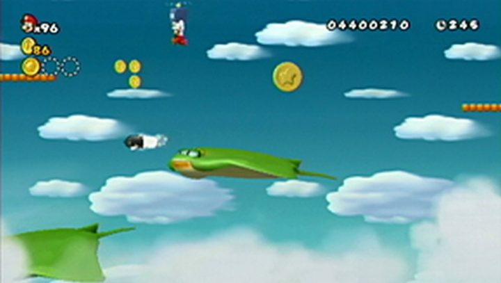 New Super Mario Bros Wii: All star coins - Moneta 110