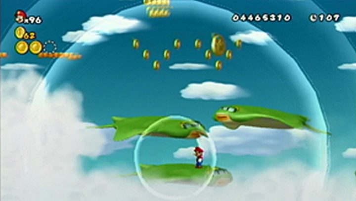 New Super Mario Bros Wii: All star coins - Moneta 111