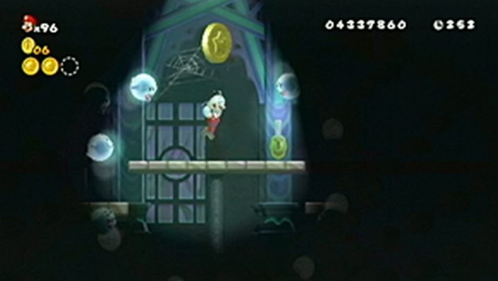 New Super Mario Bros Wii: All star coins - Moneta 108