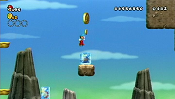 New Super Mario Bros Wii: All star coins - Moneta 115