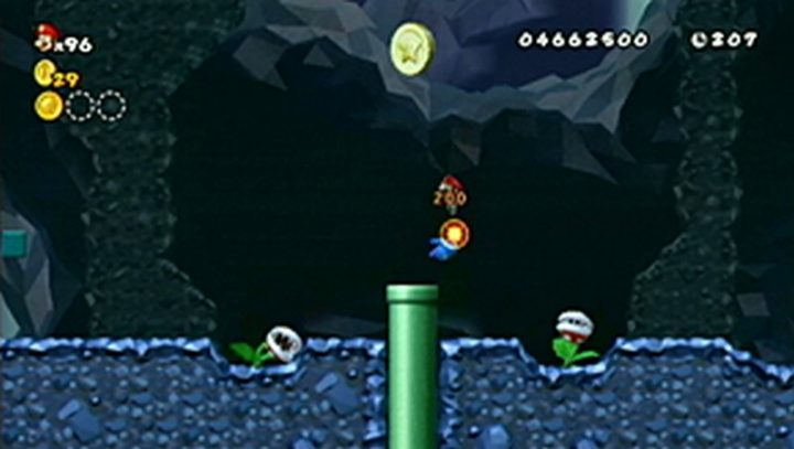 New Super Mario Bros Wii: All star coins - Moneta 119