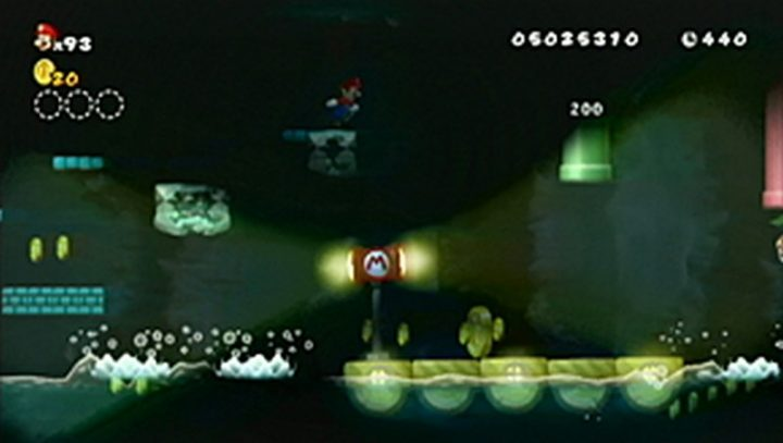 New Super Mario Bros Wii: All star coins - Moneta 133