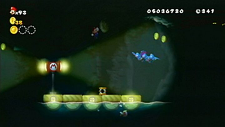 New Super Mario Bros Wii: All star coins - Moneta 134
