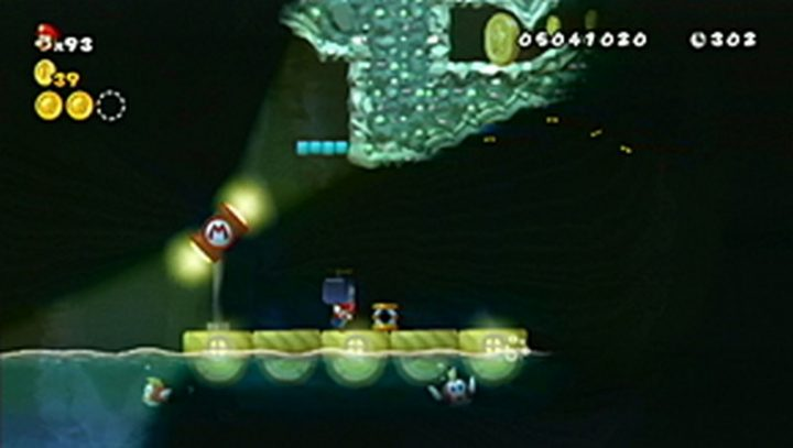 New Super Mario Bros Wii: All star coins - Moneta 135