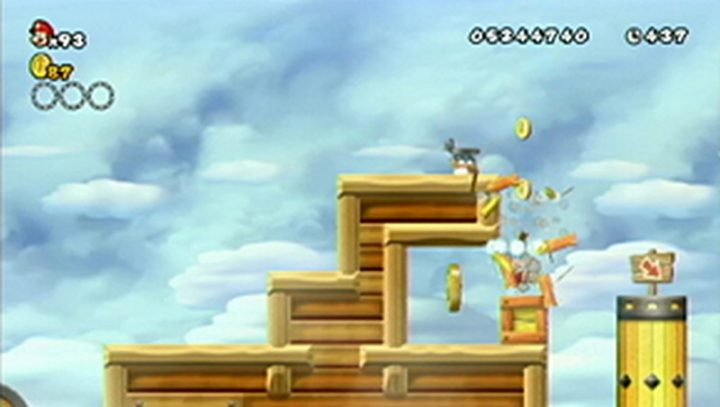 New Super Mario Bros Wii: All star coins - Moneta 139