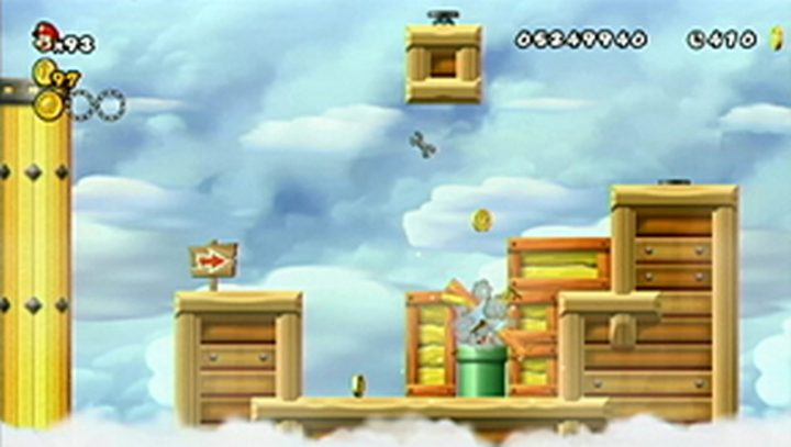 New Super Mario Bros Wii: All star coins - Moneta 140