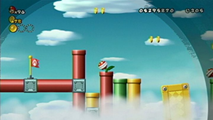 New Super Mario Bros Wii: All star coins - Moneta 143