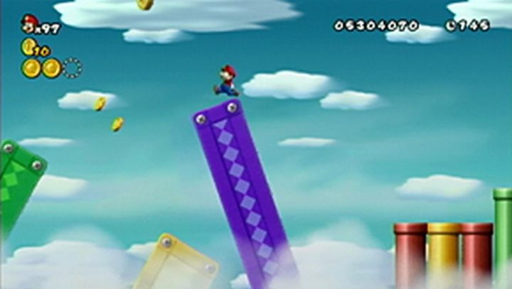 New Super Mario Bros Wii: All star coins - Moneta 144