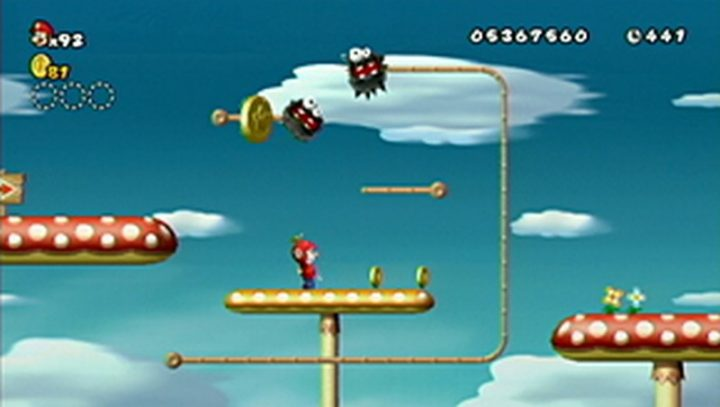 New Super Mario Bros Wii: All star coins - Moneta 147