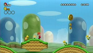 New Super Mario Bros Wii: All star coins - Moneta 16