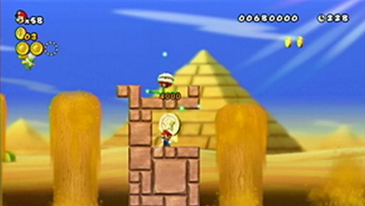 New Super Mario Bros Wii: All star coins - Moneta 23