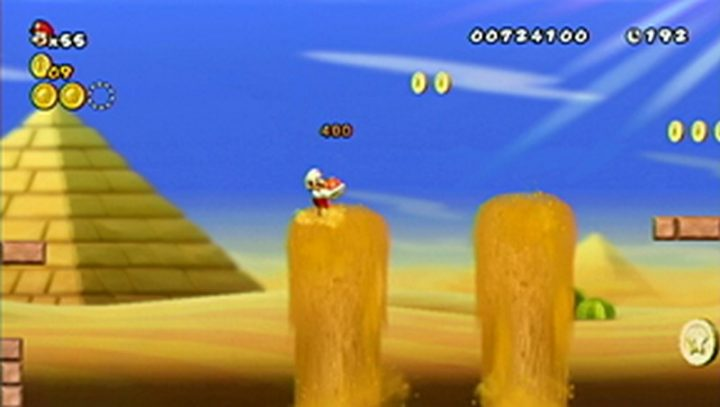 New Super Mario Bros Wii: All star coins - Moneta 24