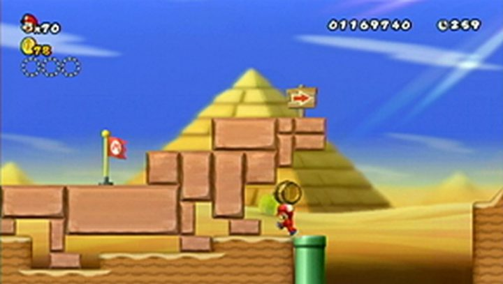 New Super Mario Bros Wii: All star coins - Moneta 35
