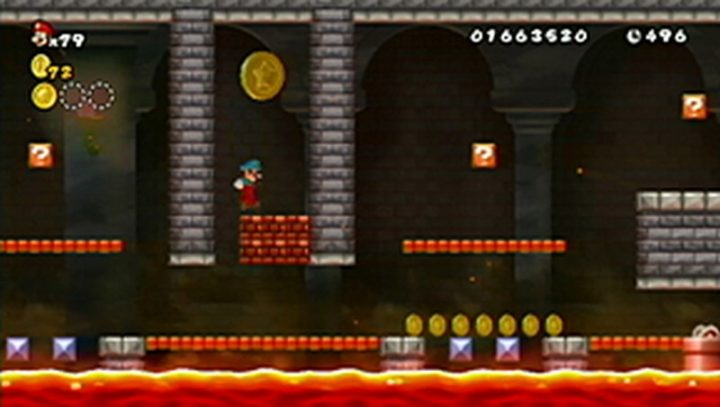 New Super Mario Bros Wii: All star coins - Moneta 44