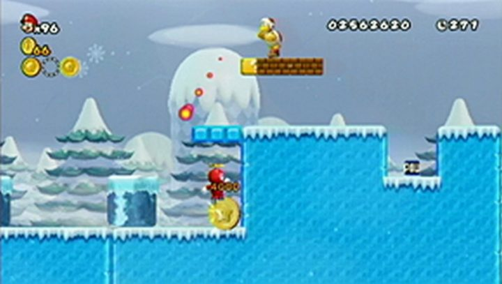 New Super Mario Bros Wii: All star coins - Moneta 60