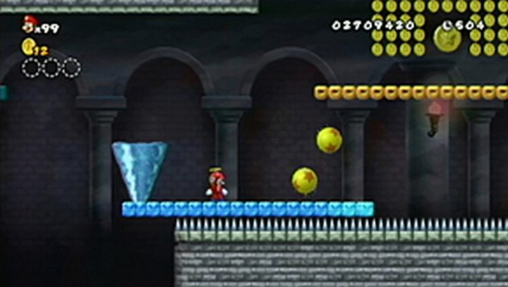 New Super Mario Bros Wii: All star coins - Moneta 64