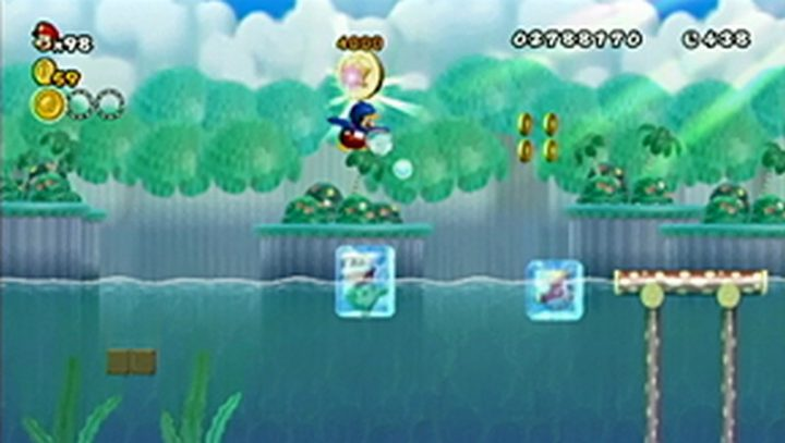 New Super Mario Bros Wii: All star coins - Moneta 67