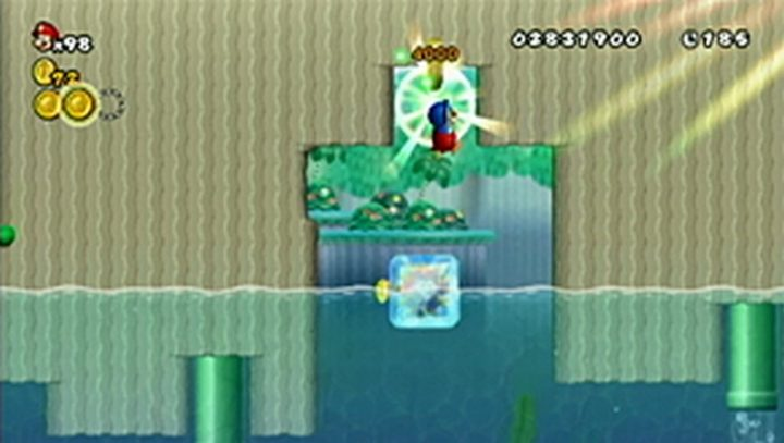 New Super Mario Bros Wii: All star coins - Moneta 68