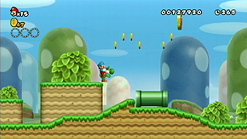 New Super Mario Bros Wii: All star coins - Moneta 7