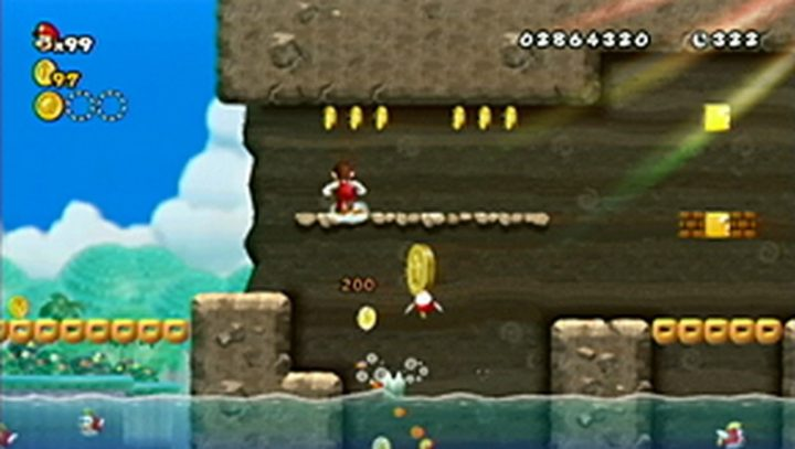 New Super Mario Bros Wii: All star coins - Moneta 71
