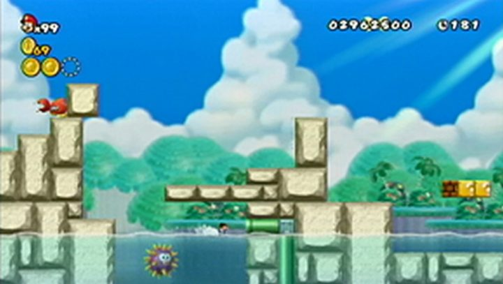 New Super Mario Bros Wii: All star coins - Moneta 75