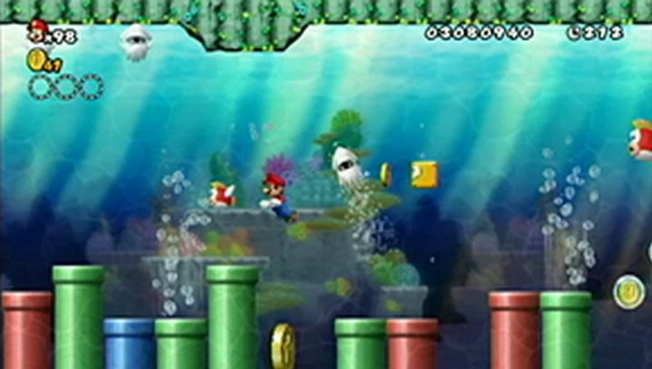 New Super Mario Bros Wii: All star coins - Moneta 80