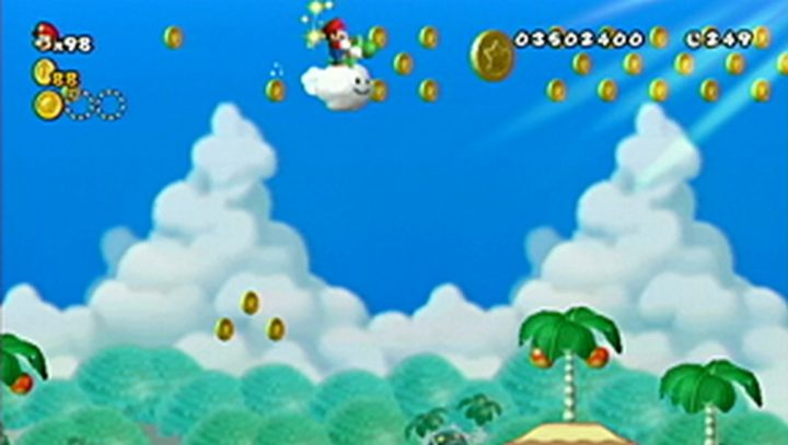 New Super Mario Bros Wii: All star coins - Moneta 86