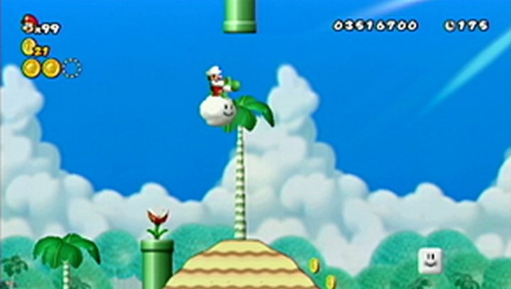 New Super Mario Bros Wii: All star coins - Moneta 87