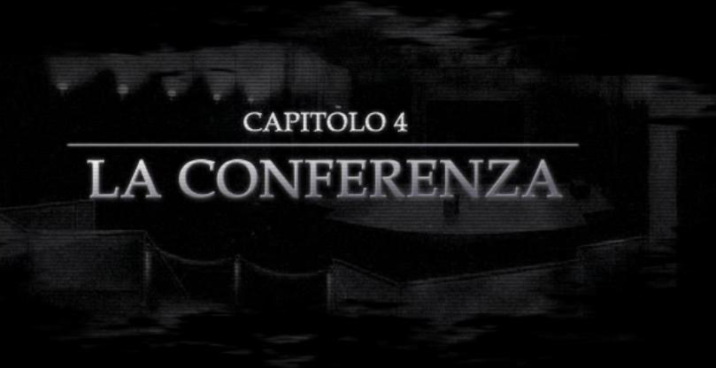 Capitolo 4 - La conferenza