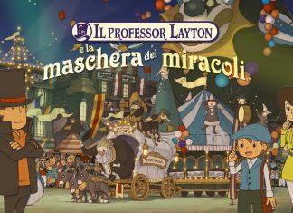 Professor Layton e la Maschera dei Miracoli titolo