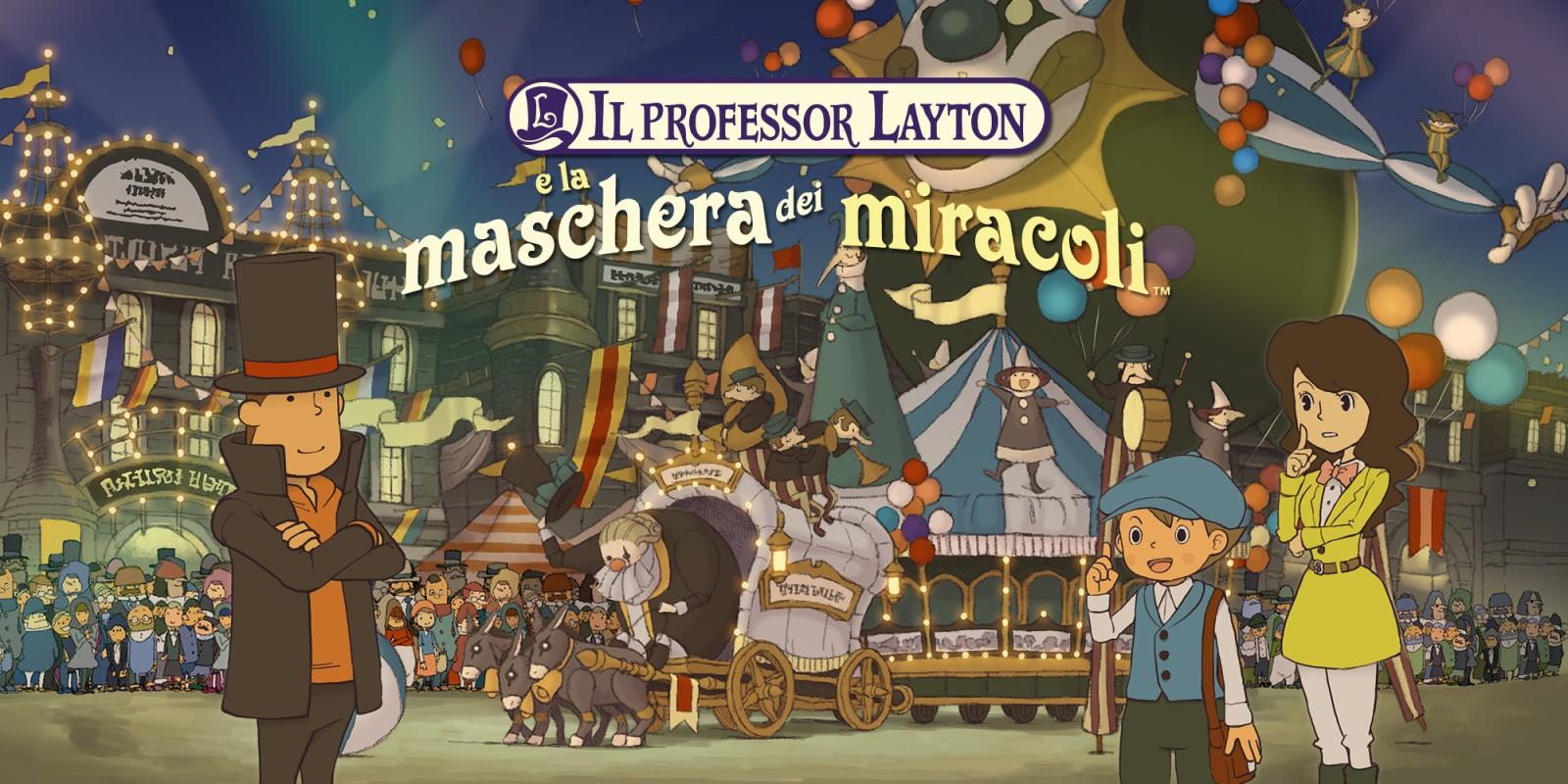 prezzo più basso con nuovo stile prezzo incredibile Professor Layton e la Maschera dei Miracoli - Soluzione agli enigmi