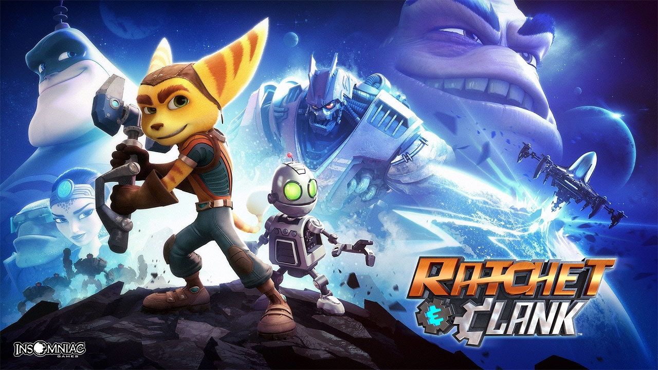 Ratchet & Clank slide
