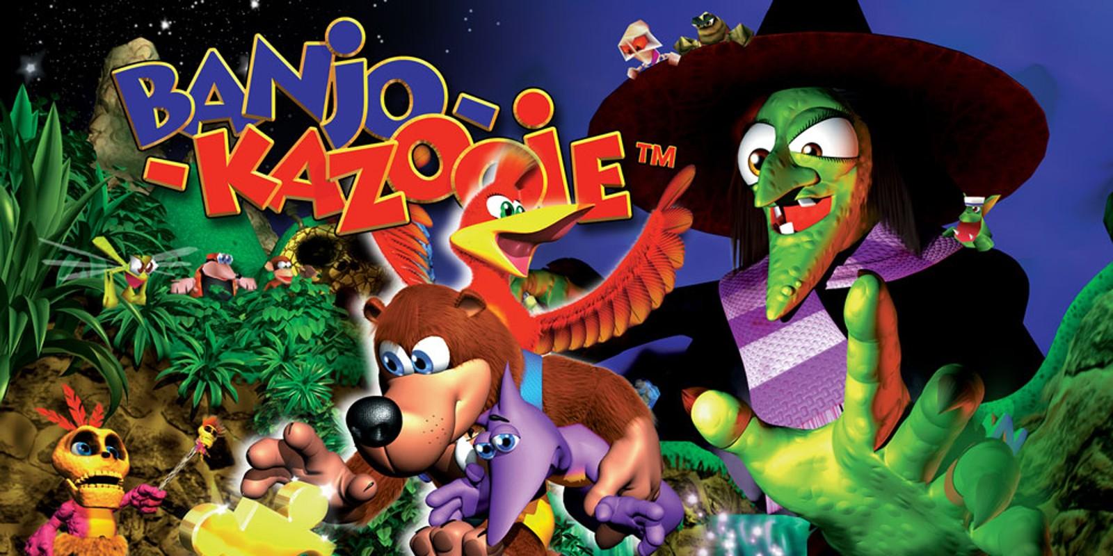 Banjo Kazooie n64