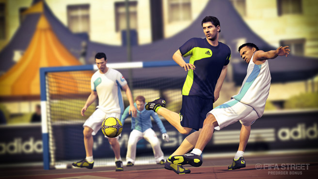 FIFA STREET Messi Back Heel Shot