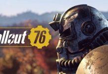 Fallout 76 title logo