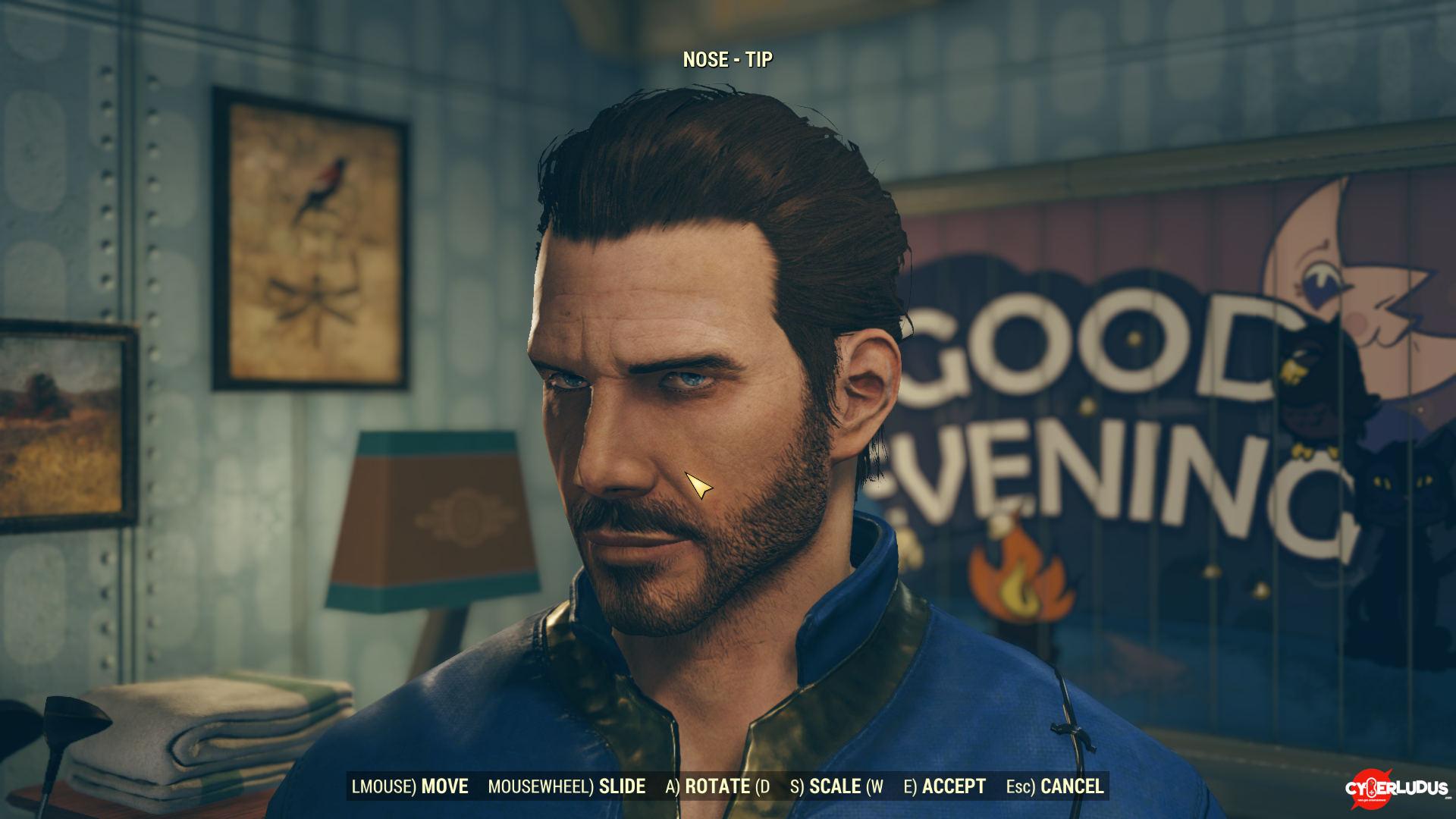 Fallout76 editor personaggio