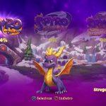 Spyro Reignited Trilogy schermata di selezione