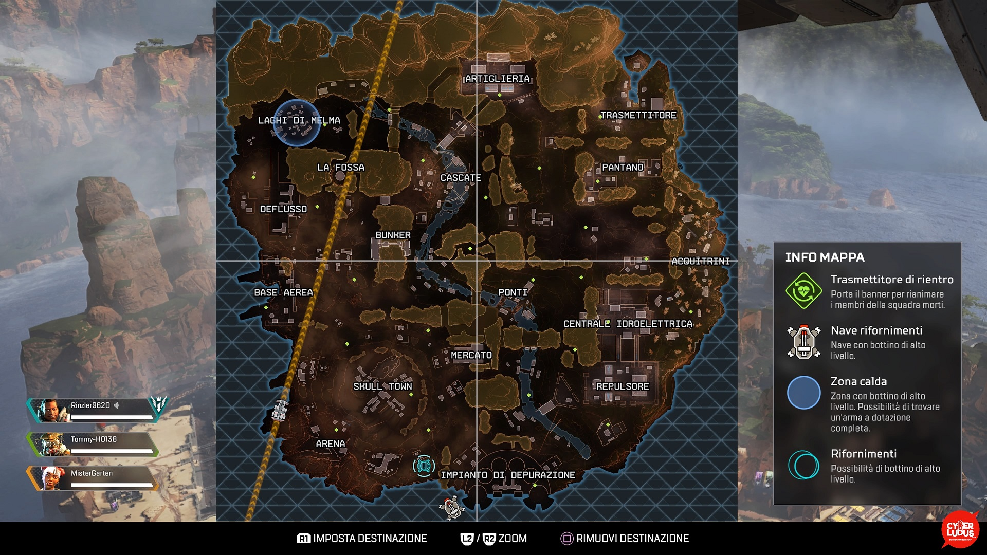 Apex Legends mappa