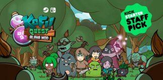 Kofi Quest Kickstarter campaign