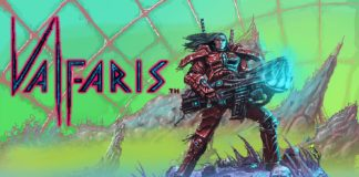Valfaris title