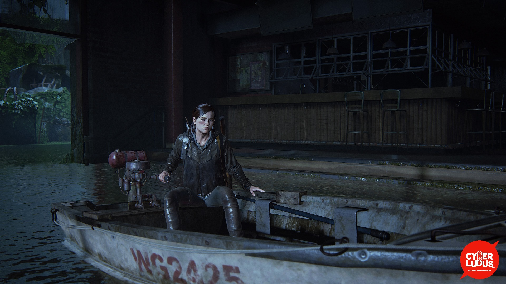 The Last of Us 2 boat