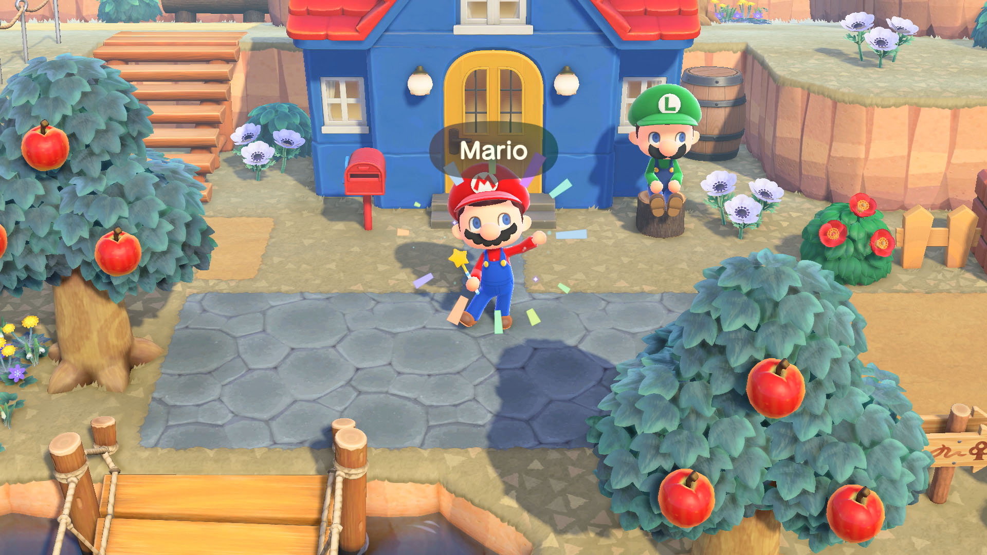 Animal Crossing: New Horizons + 35º anniversario di Super Mario Bros