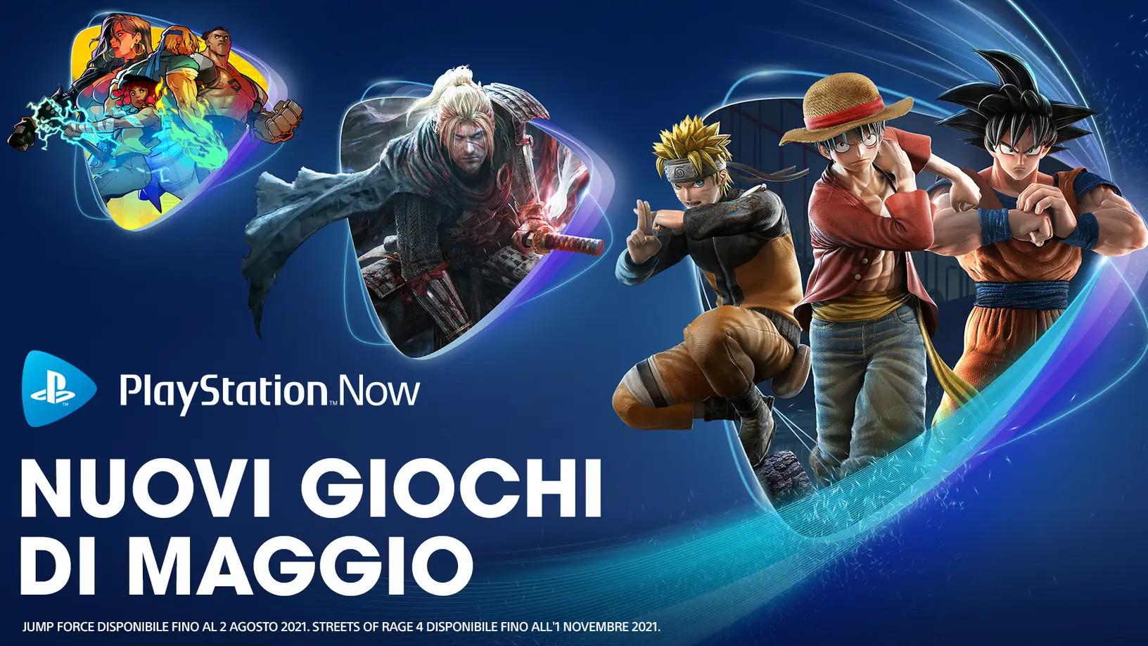 Giochi PlayStation Now di maggio
